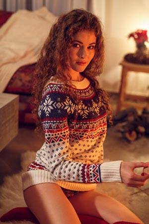Shaghayegh, kiimainen tytöt i Kuhmo - 10740